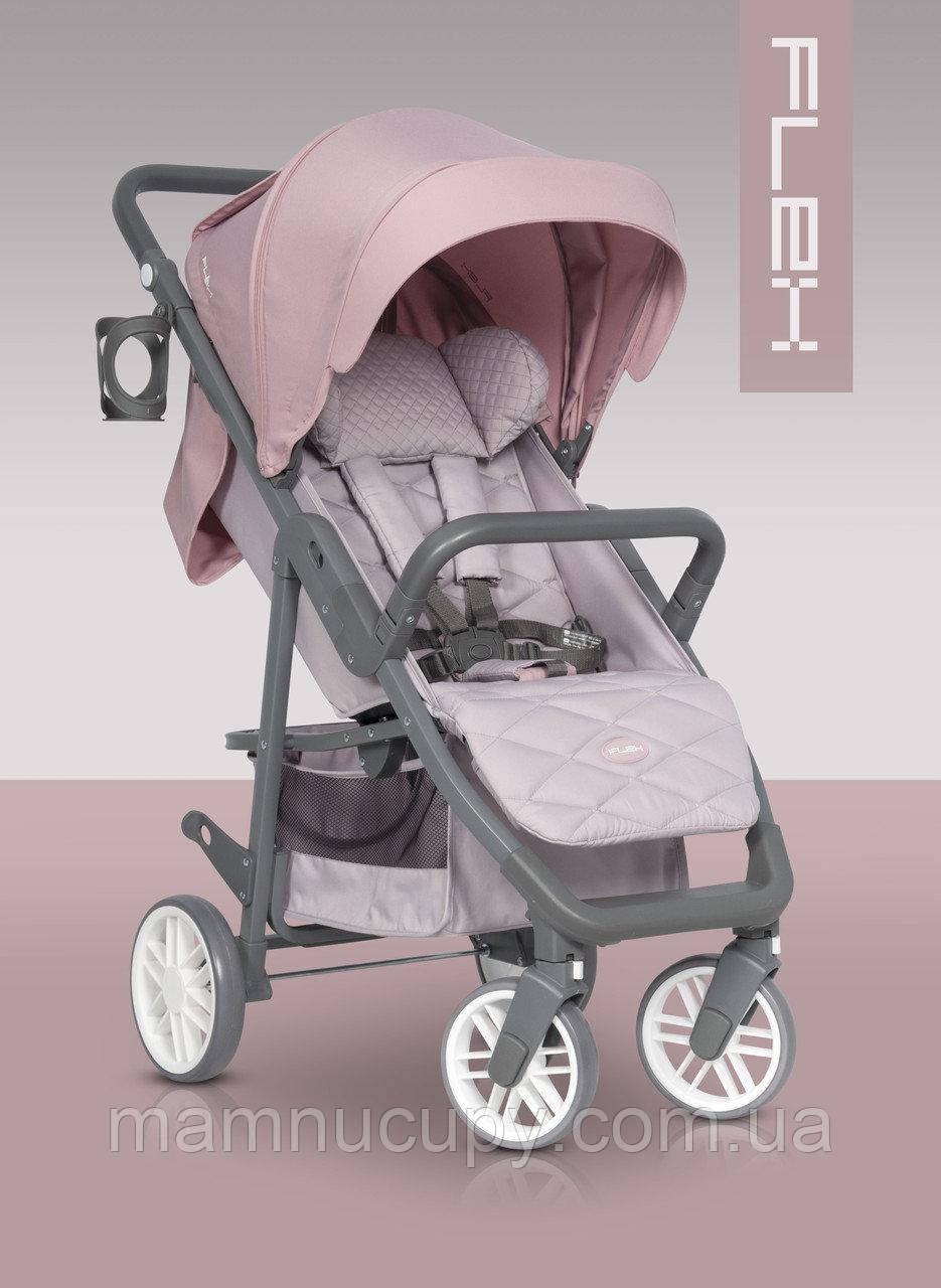 Детская прогулочная коляска Euro-Cart Flex Pink