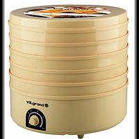 Сушка для продуктiв електрична (20 л; 520 Вт, 5 ярусiв) ViLgrand VDF520-20