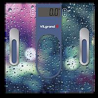 Весы напольные электронные на 180 кг, анализатор; 30х30 ViLgrand VFS-1833