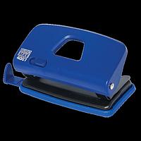 Діркопробивач пластиковий BUROMAX, 10 аркушів, синій