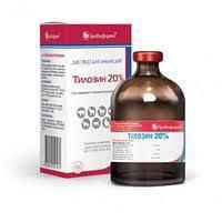 Тилозин 20% 100 мл (Бровафарма) антибиотик для КРС, овец, свиней, кошек, собак и кроликов