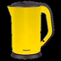 Чайник електричний нержавейка, цельная колба (1.8 л; 2 кВт) ViLgrand VS303