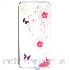 Накладка Fashion Diamond Huawei Nova Plus принт #10