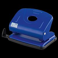 Діркопробивач металевий BUROMAX, 20 аркушів, синій