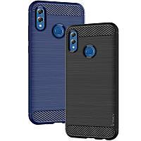 Защитный чехол iPaky Slim с карбоновыми вставками для Samsung A405F Galaxy A40 (выбор цвета)