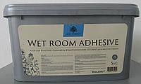 Клей Колорит для стеклообоев и стеклохолста Wet Room Adhesive 5л