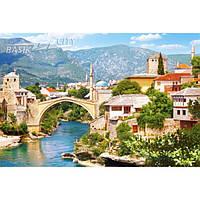 Пазл Касторленд «Город Мостар, Босния и Герцеговина» (Castorland С-102495) на 1000 элементов