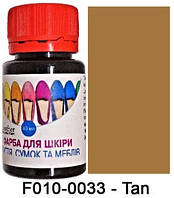 """Краска для кожи 40 мл.""""Dr.Leather"""" Touch Up Pigment TAN"""