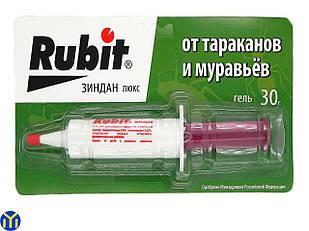 Гель-шприц, средство от тараканов и муравьев, Рубит Зиндан