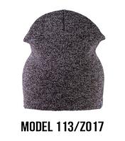 Шапка Ozzi shovel №113RP, шапка-колпак розовый/zo17