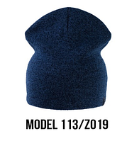 Шапка Ozzi shovel №113RP, шапка-колпак синий/zo19