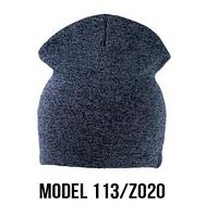 Шапка Ozzi shovel №113RP, шапка-колпак голубой/zo20
