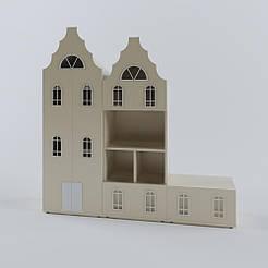 Комплект шкафов Амстердам для детской комнаты ВНCPL-1301-1