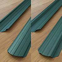 Штакетник Зеленый  Китай двухсторонний рал 6005 мат 0,45 мм