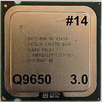 Процессор ЛОТ #14 Intel Core 2 Quad Q9650 SLB8W  3.0GHz 12M Cache 1333 MHz FSB Soket 775 Б/У, фото 1