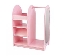 Игровой гардеробный шкафчик розовый ВНDG-02