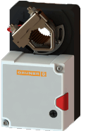 Электропривод без возвратной пружины Gruner 227S-024-05-S1