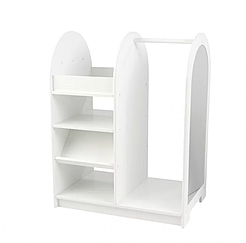 Игровой гардеробный шкафчик белый ВНDG-01