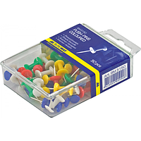 Кнопки-цвяшки кольорові, 50шт., фото 1