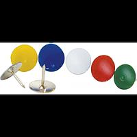 Кнопки кольорові, 100шт., фото 1