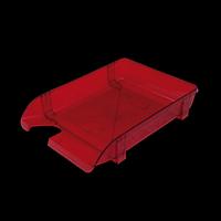 Лоток пластиковий горизонтальний, червоний