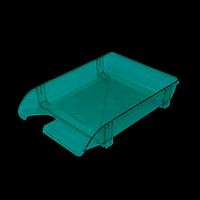Лоток пластиковий горизонтальний, салатовий