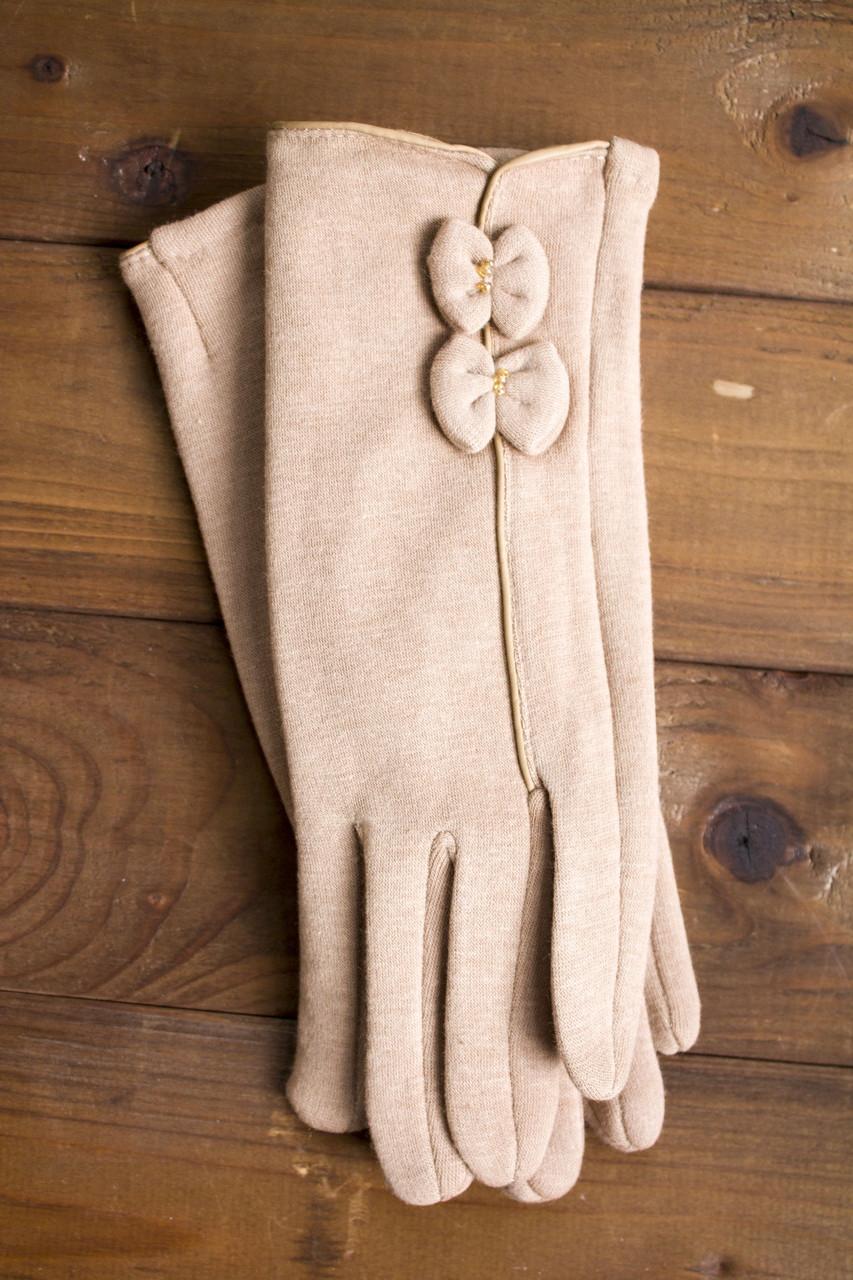 Женские стрейчевые перчатки маленькие 112S1