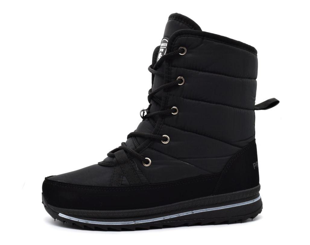 Ботинки сапоги женские черные