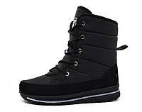 Ботинки чоботи жіночі чорні