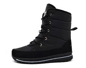 Ботинки чоботи жіночі чорні 36 розмір