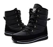 Ботинки сапоги женские черные, фото 3