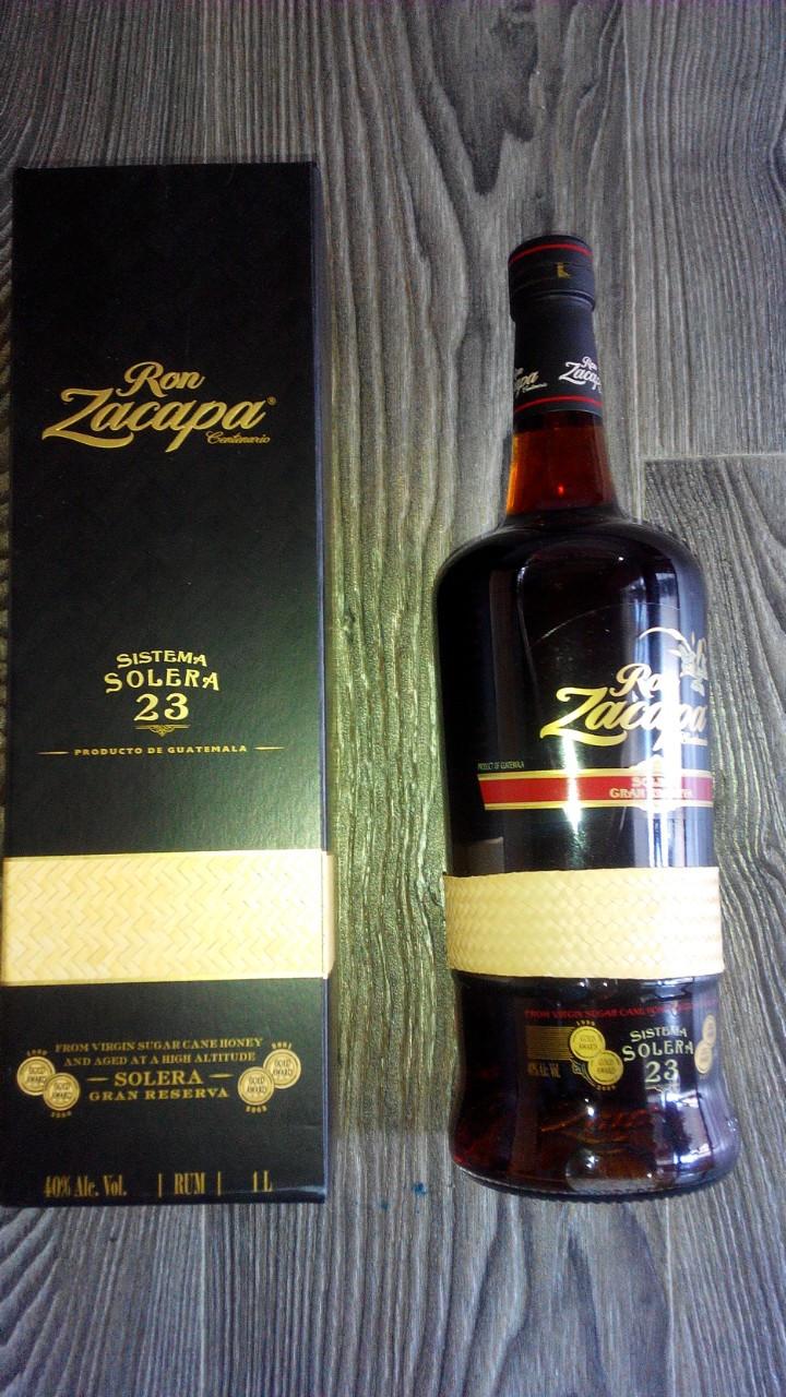 Гватемальский темный ром Закапа 23 года выдержки/ Ron Zacapa 23 в ПУ 1л
