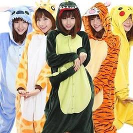 Кигуруми пижамы и тапочки