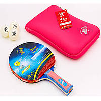 Набор для настольного тенниса (1 ракетка, 2 мяча) GIANT DRAGON MT-6540 Replika