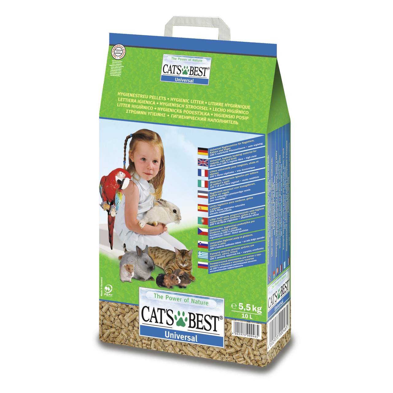 Гигиенический наполнитель Rettenmaier Cats Best Universal 10 л (древесный)