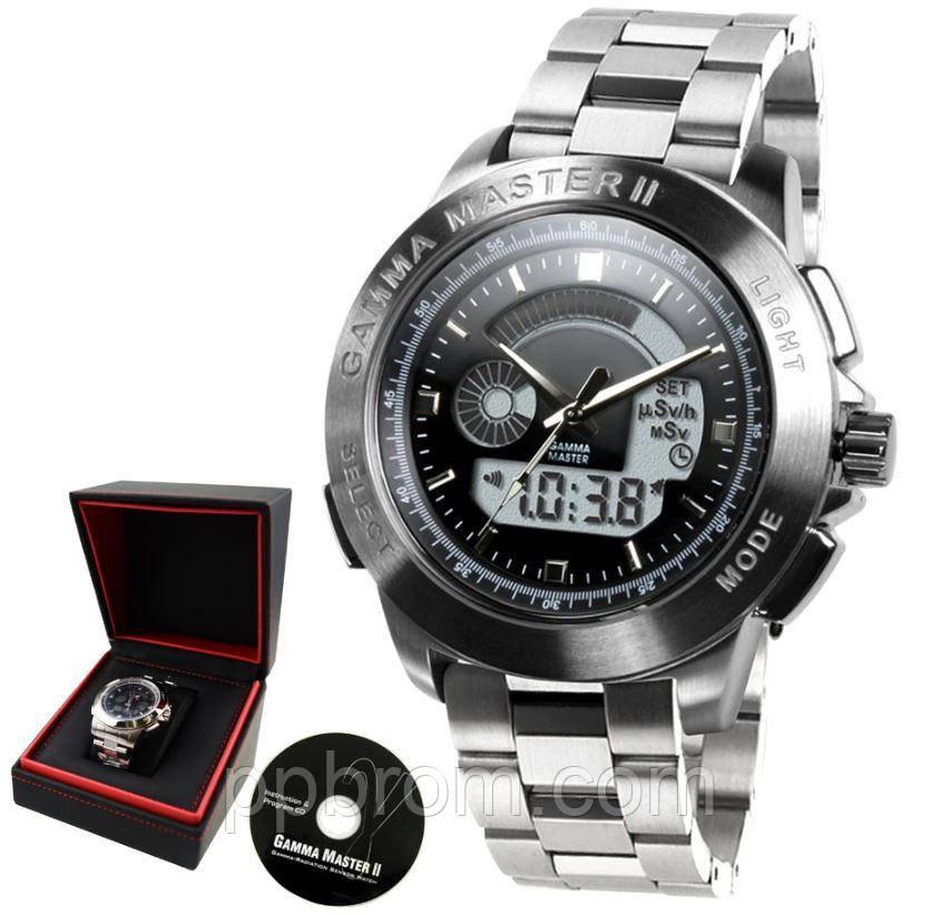Часы с дозиметром Gamma Master II (СИГ-РМ1208М)