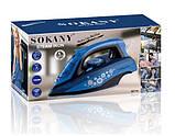 Профессиональный электрический утюг Sokany 8877B/8877A, фото 2