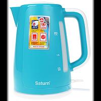 Електрочайник 2,2кВт,1.7л,диск Saturn ST-EK8435 Turquoise