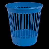 Кошик офісний для паперів, пластик, синій