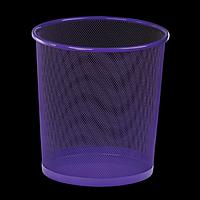 Корзина для паперу, фіолетова