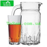 Набор стаканов для сока с кувшином Karat 1,87 л 97045