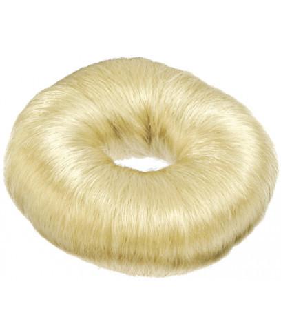 Подкладка-кольцо для причесок Sibel Белая 9 см