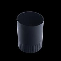 Стакан пластиковий для ручок, чорний