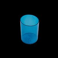 Стакан пластиковий для ручок, синій