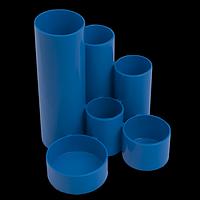 Підставка пластикова канцелярська, синій