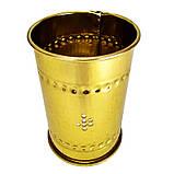 >Колпак для кальяна золотистый открытый , фото 2