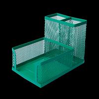 Прибор настільний BUROMAX, металевий, зелений