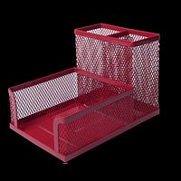 Прибор настільний BUROMAX, металевий, червоний
