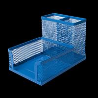 Прибор настільний BUROMAX, металевий, синій