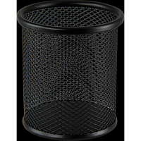 Підставка для ручок кругла BUROMAX, металева, чорна